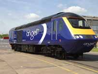 Angel Trains power unit 43009, now ready for a six month test period